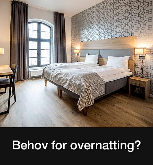 Konferanse og selskapslokaler med overnatting på Hamar