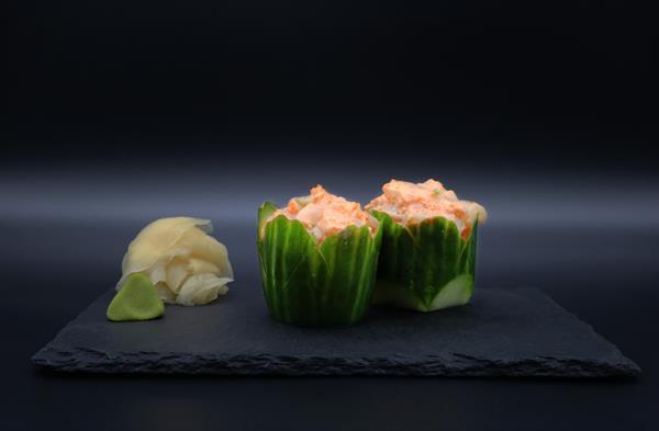 Sashimi spicy kamskjell
